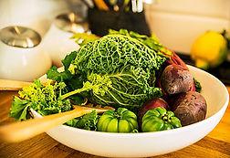 Grönsaker är bra för magen