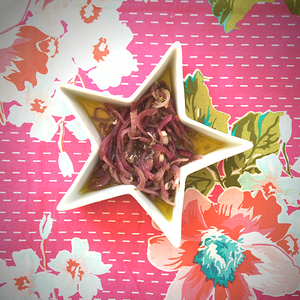 Picklade rödlök recept
