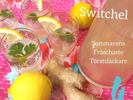 Switchel - sommarens fräschaste törstsläckare