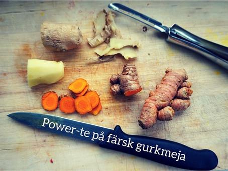 Gurkmeja-power!