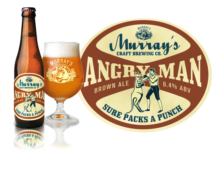 Murray's Angry Man Brown Ale