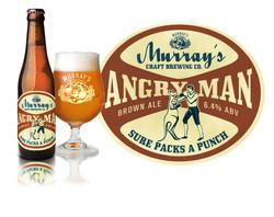 Murray's Angry Man Brown Ale