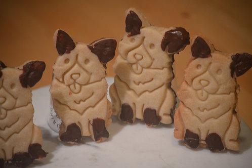 Muddy Puppy Shortbread