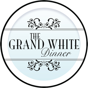 The Grand White Dinner Logo