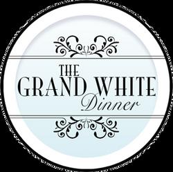 The Grand White Dinner Logo