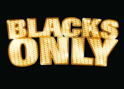 Blacks Only Logo