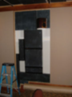 Right wall panels and fabric.jpg