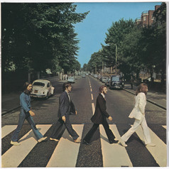 The Beatles - Abbey Road - Front Cover 2