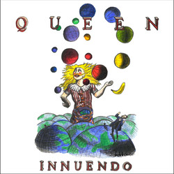 Queen - Innuendo - Front Cover
