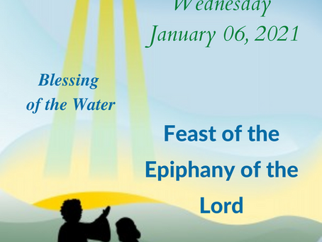 Epiphany - Baptism of the Lord