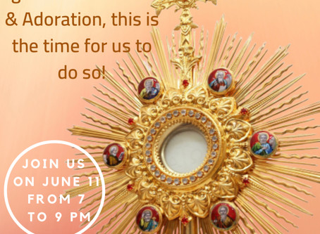 Feast of the Corpus Christi: Adoration & Confessions