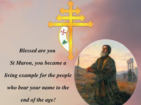 Saint Maron Feast