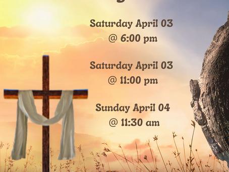 Glorious Resurrection Liturgies!