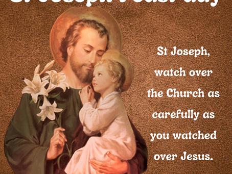 Saint Joseph Feast!