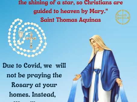 Join us to pray the Rosary!