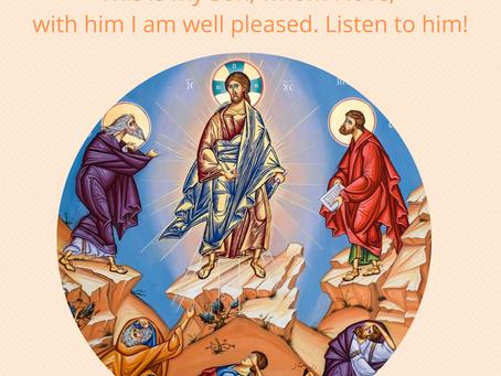 Transfiguration Liturgy!