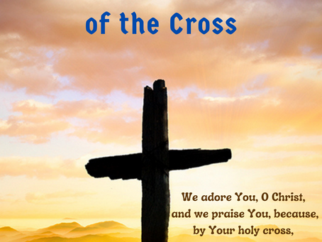 Benediction of the Cross!