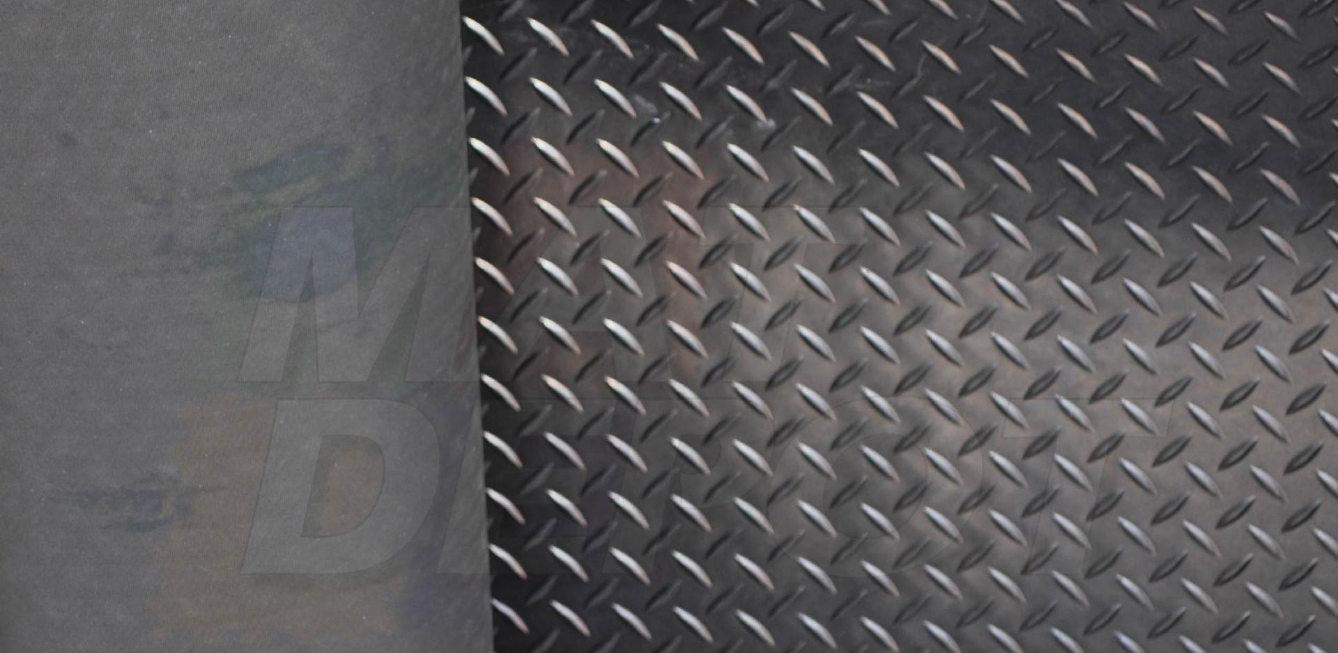 Tapete antiderrapante de espiga con base áspera