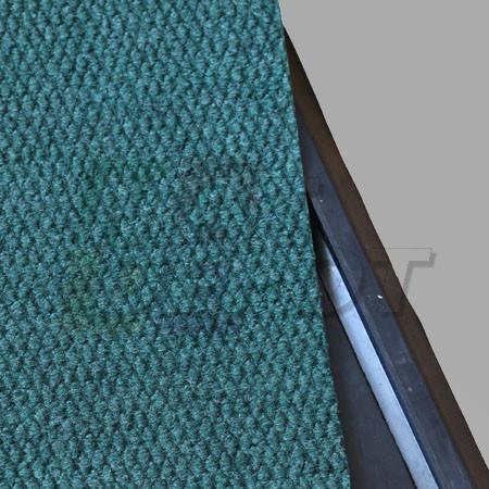 Tapete sanitizante doble con alfombra