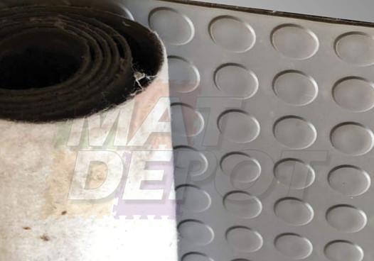 Tapete PVC de Circulos base textil