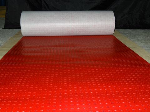 Tapete de PVC con círculos