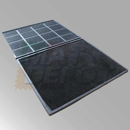 Tapete doble alfombra