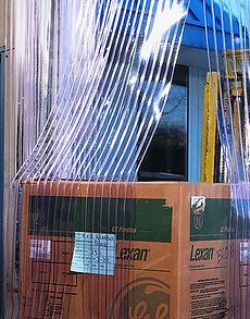 Tira de PVC con Costilla