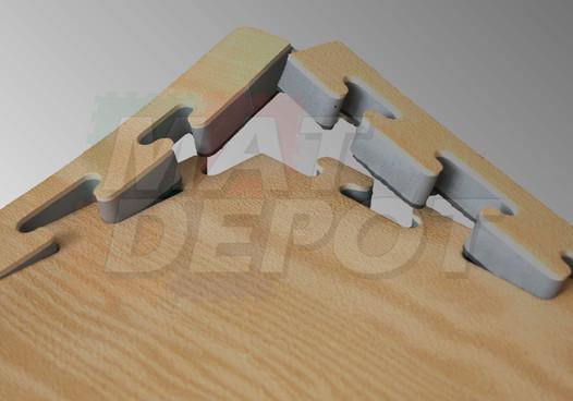 Tatami madera detalle
