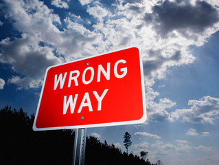 Why the 'Wrong Way' might turn out to be the 'Way Forward'