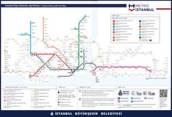 İstanbul Raylı Sistemler Ağ Haritası