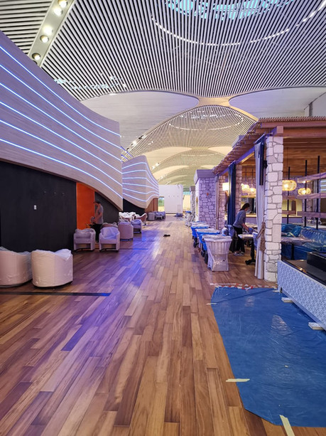 Turkish Airlines International Lounge