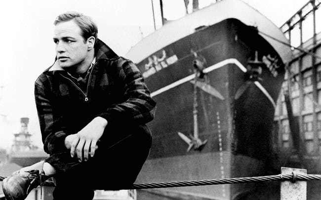 24 pictures of young Marlon Brando