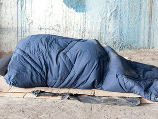 600,000 homeless people in the USA