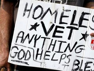 Homeless former Marine dies,