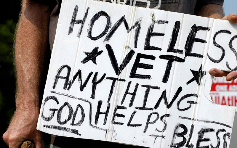 homeless VET USA