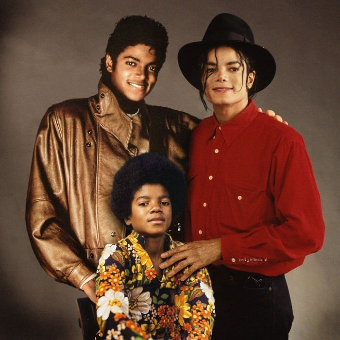 50-Celebrities-hanging-out-with their-younger-selves-Michael-Jackson