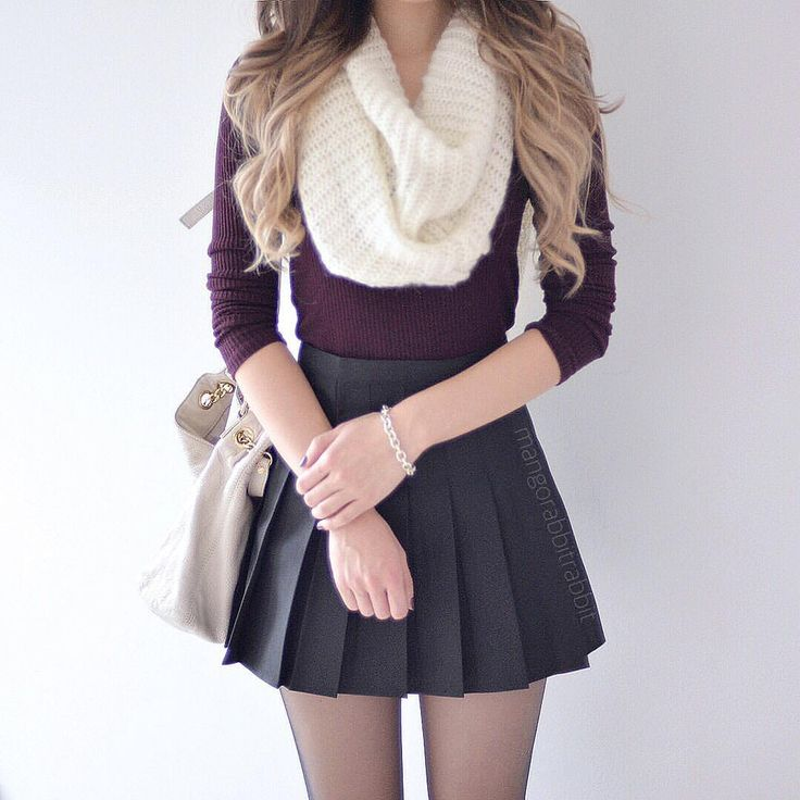 33-women's-casual-work-outfits-for-winter-purple
