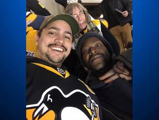 Penguins Fan Offers Extra Ticket To Homeless Man