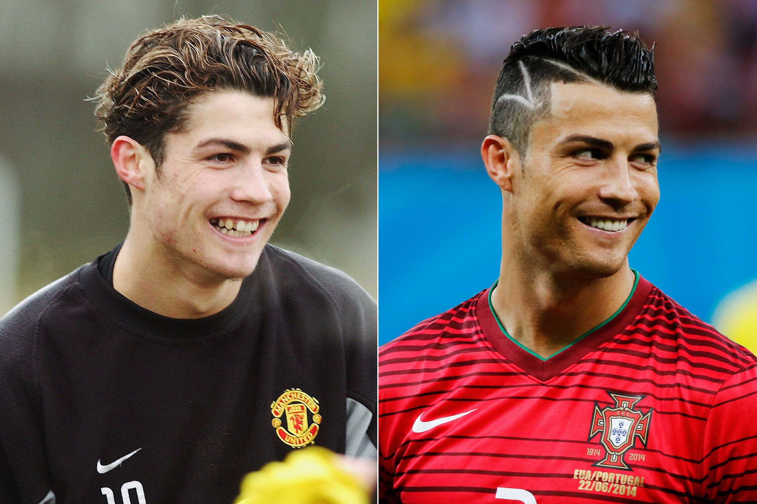 50-Celebrities-hanging-out-with their-younger-selves-Christiano-ronaldo