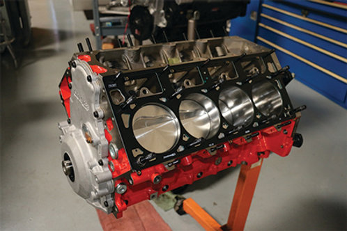 LSX 388 SHORT BLOCK