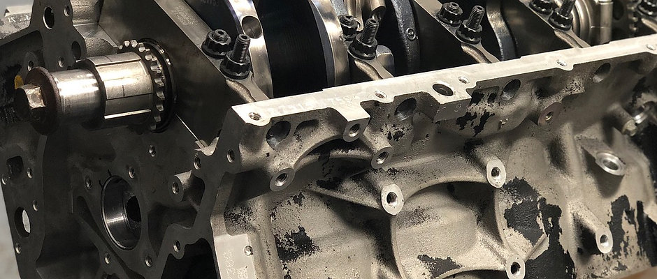 GM ALUMINUM 370 SHORT BLOCK