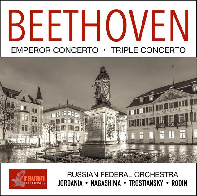 Beethoven: Emperor & Triple Concerto  T. Nagashima (piano) / K. Rodin (cello) / A. Trostiansky (Violin) Russian Federal Orchestra / V. Jordania (conductor)