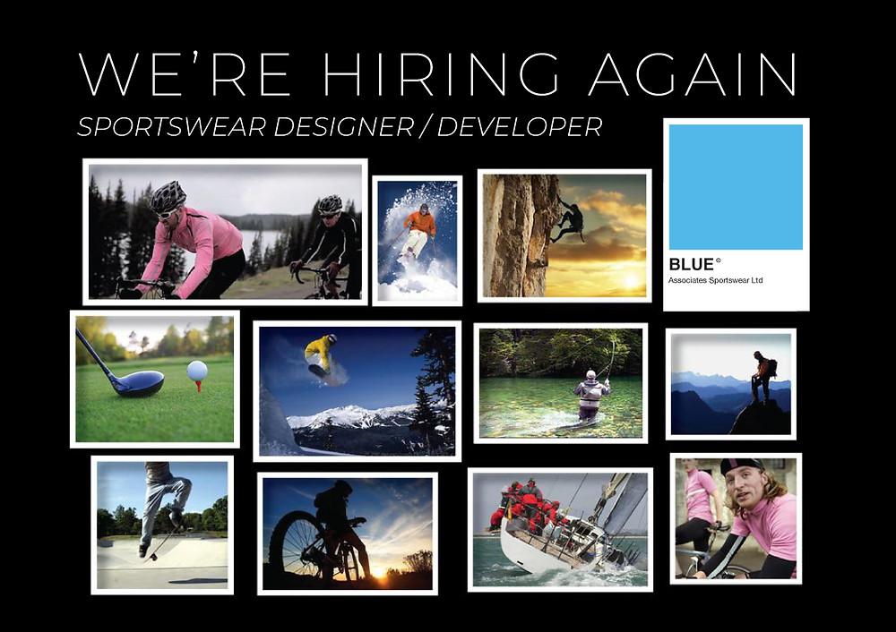 sportswear designer - Blue Associates Sportswear Ltd