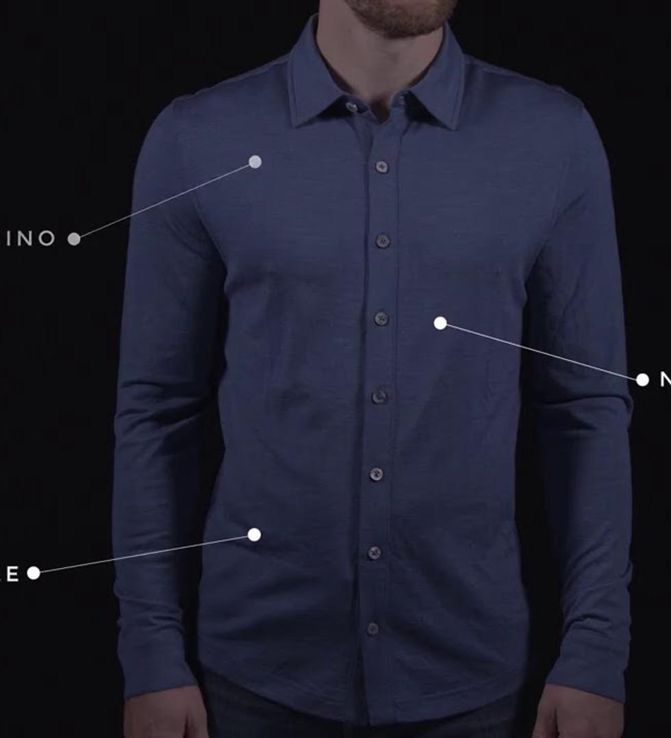 FR3ND Merino Jersey Shirt