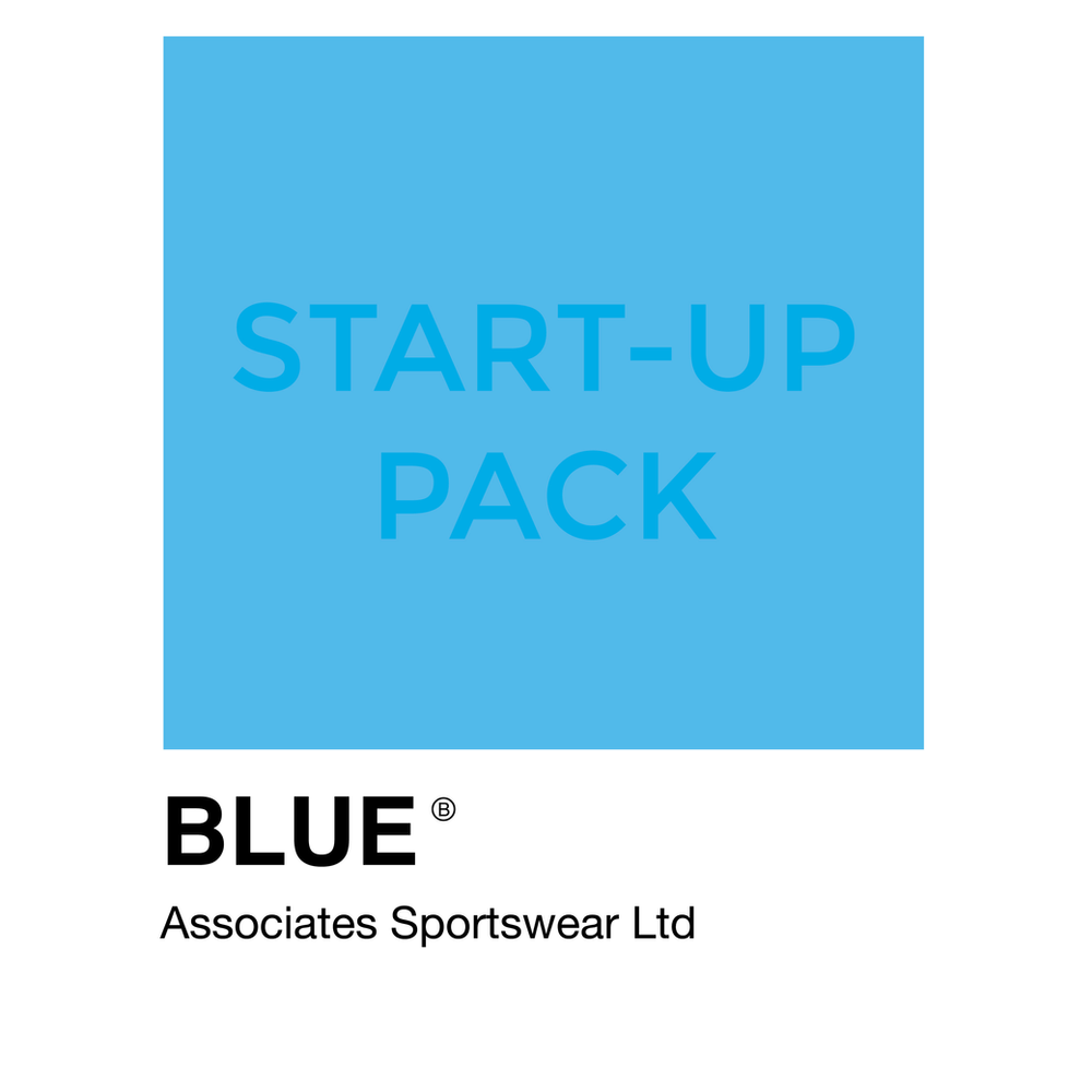 Sportswear Startup Pack - Blue Associates Sportswear Staring your activewear brand?