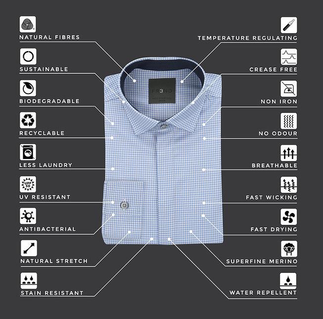 FR3ND Merino Shirts features better than cotton shirts