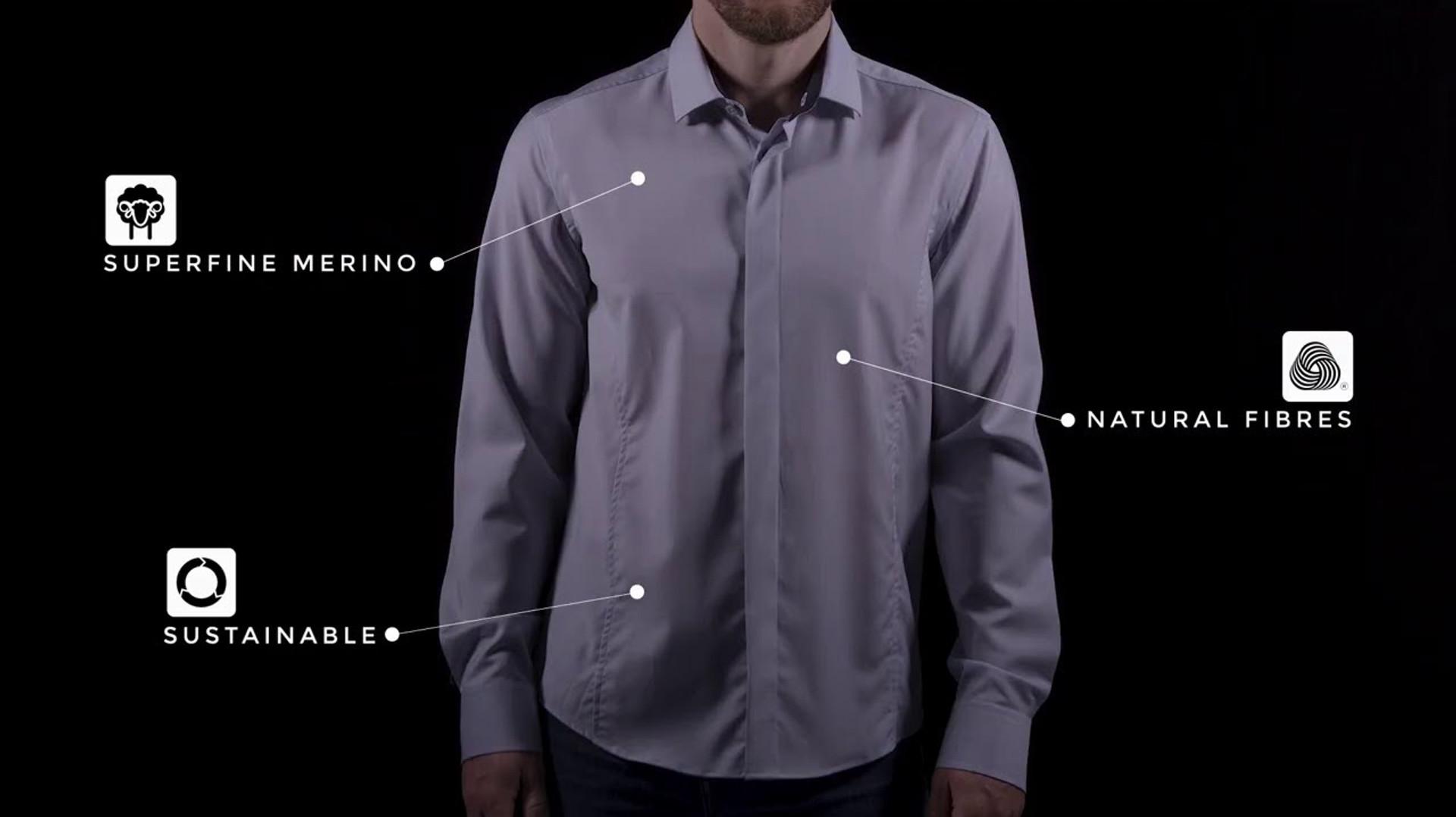 FR3ND - Merino Classic Shirt