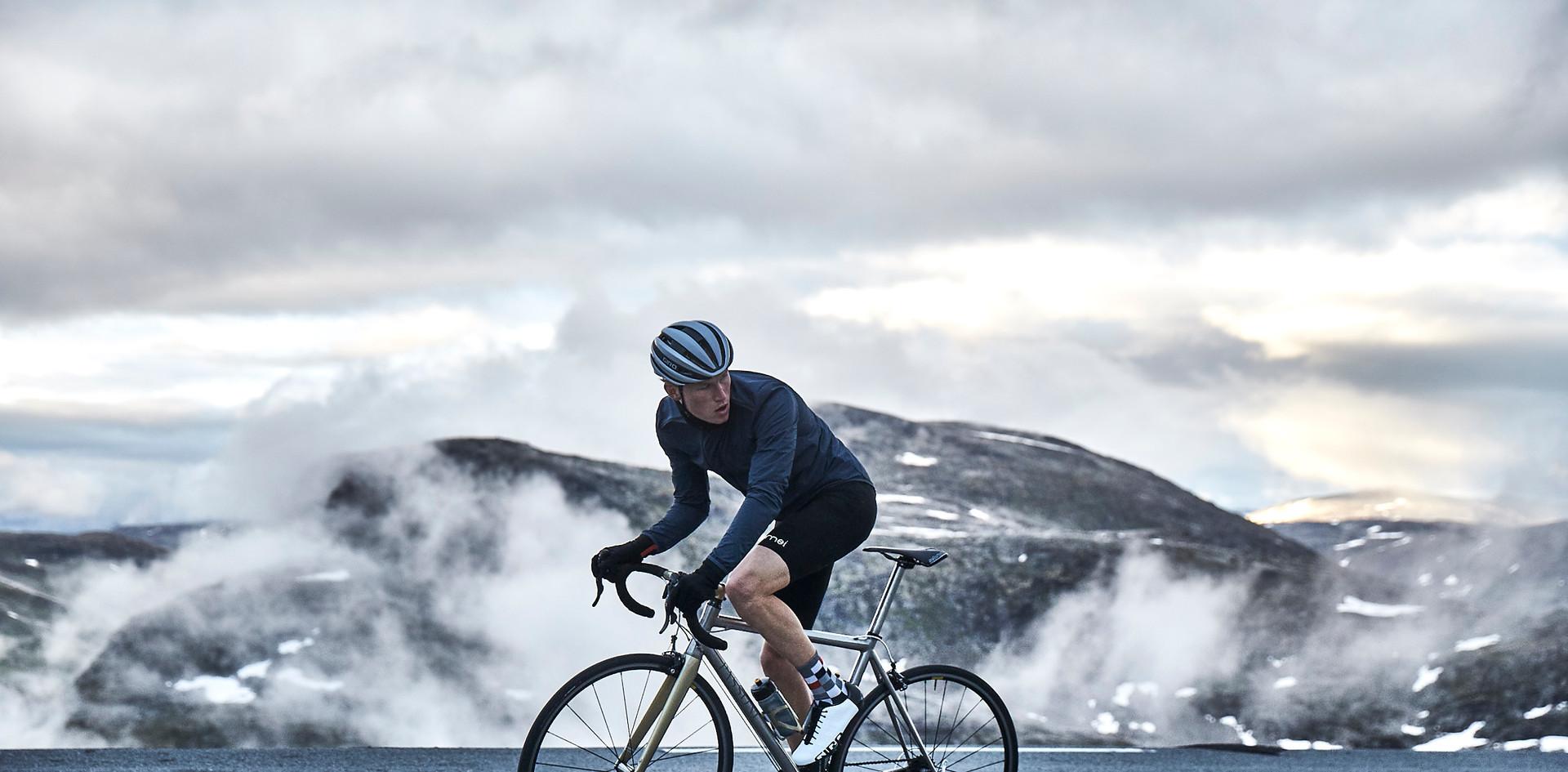 Blue Associates Sportswear cycle factory