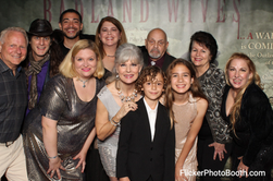 """Executive Producer Jane E. McAllister, Producer Jaime Scher, Producer Dave Basinski, Creator/Writer Sharon Rubin, Casting Director Frances Welter, Actress Mary Kennedy, Michael Anthony Jr., Sophie & Cameron Corona and """"License To Chill"""" cast members."""