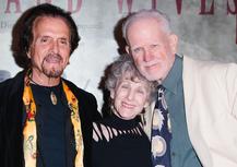 Musician Francesco Lupica, Nanette Johns, and Bill Buerge